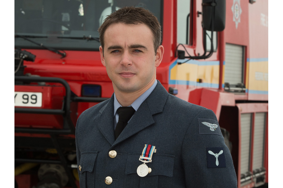 Senior Aircraftman Dominic Garner