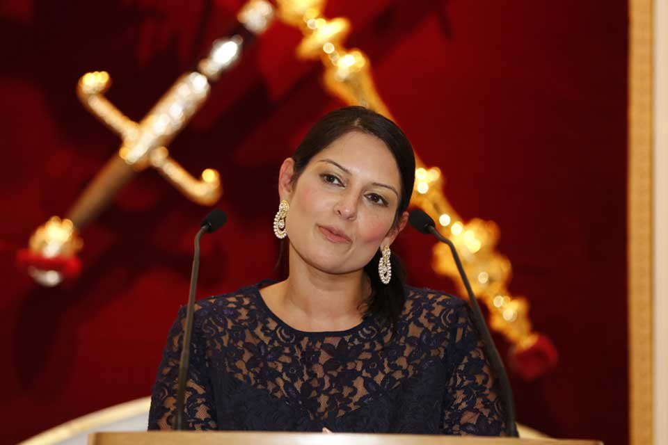 Secretary of State for International Development Priti Patel gives her Commonwealth Trade speech