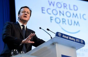 Prime Minister addresses World Economic Forum in Davos