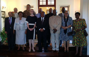 Tanzania Minister of Foreign Affairs with Heads of Commonwealth countries in Tanzania