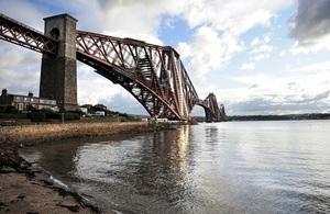Forthrail Bridge Edinburgh