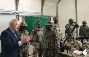 Foreign Secretary visits Somalia
