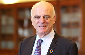 Photo of Dr David Nabarro, UK nominee for WHO Director-General, 2017