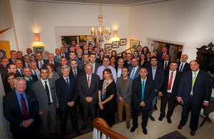 University of Bradford 50th Anniversary Reception