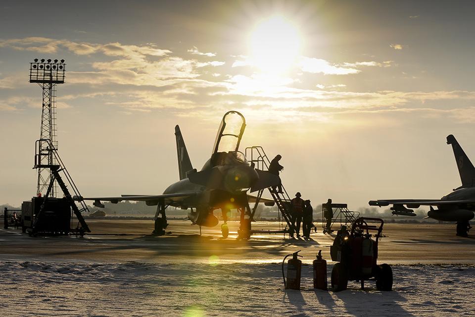 RAF Typhoon Crown Copyright
