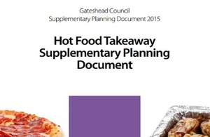 Front cover of Hot Food Takeaway Supplementary Planning Document