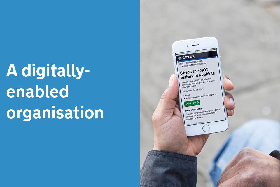 A digitally-enabled organisation