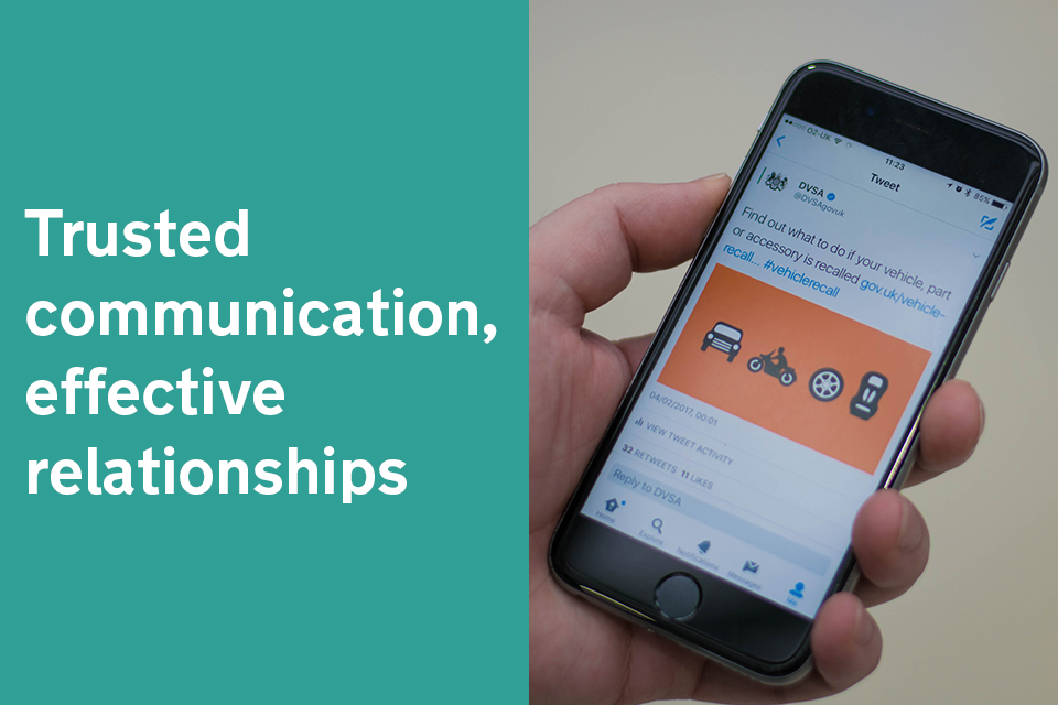 Trusted communication, effective relationships
