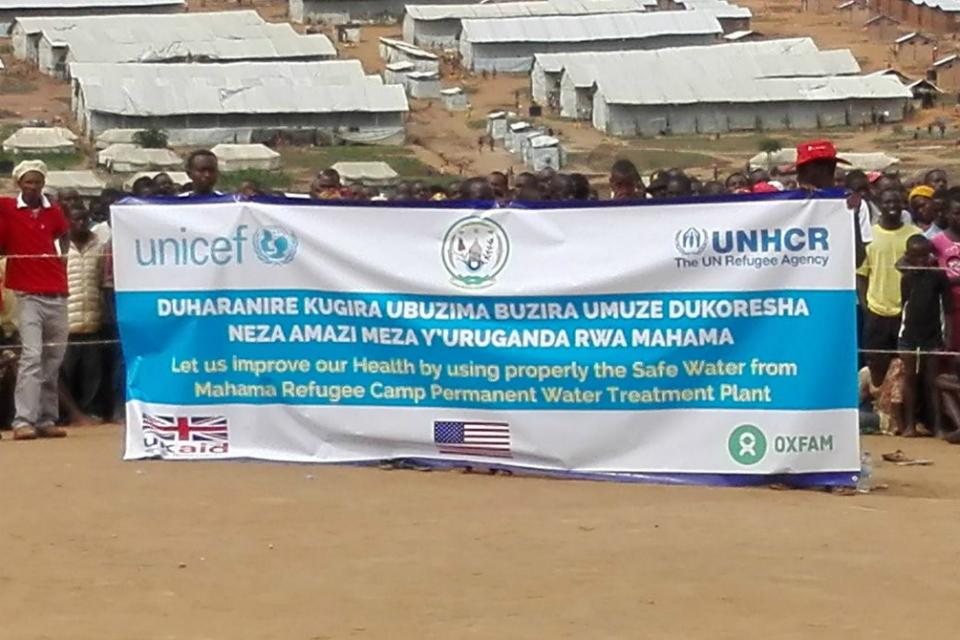 Safe water in Rwanda