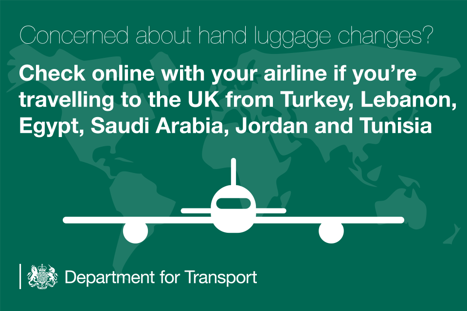 Concerned about hand luggage changes?