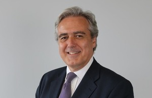 UK International Trade Minister, Mark Garnier