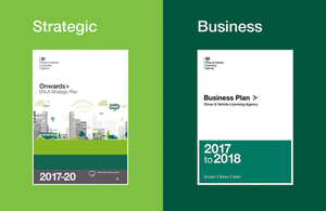 DVLA Strategic and Business Plans