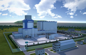 The AP1000® nuclear reactor, designed by Westinghouse, is suitable for construction in the UK