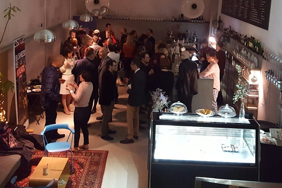 Chevening reception at Moderna