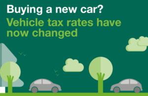 New vehicle tax rates