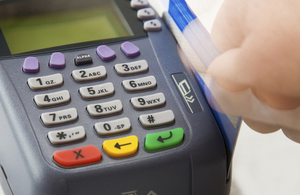 card payment machine