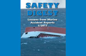 MAIB Safety Digest Front Cover