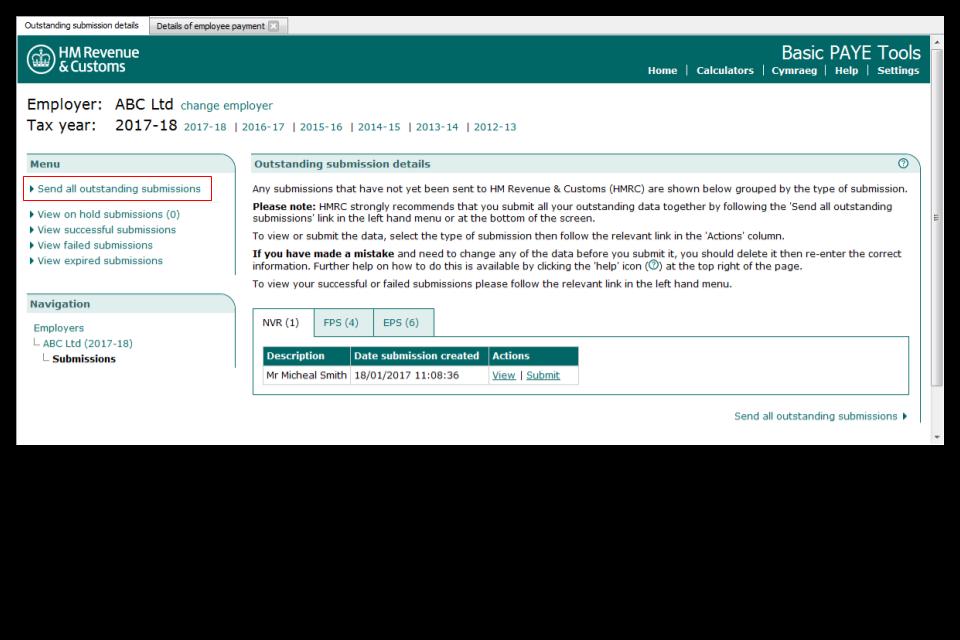 Basic PAYE Tools: User guide - GOV.UK