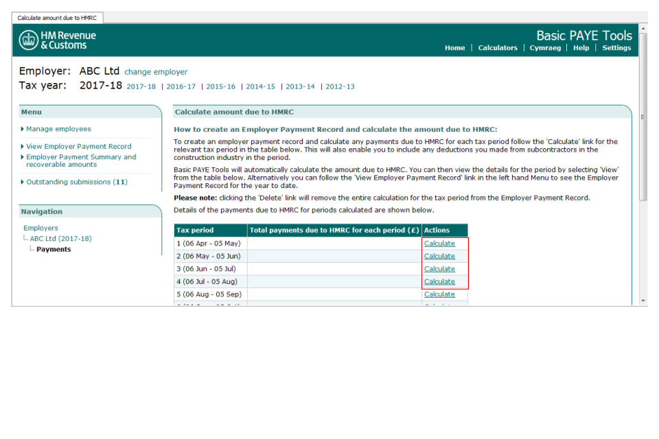 Basic paye tools user guide gov bpt calculate amount due to hmrc spiritdancerdesigns Gallery