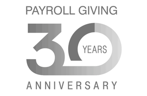Payroll giving logo