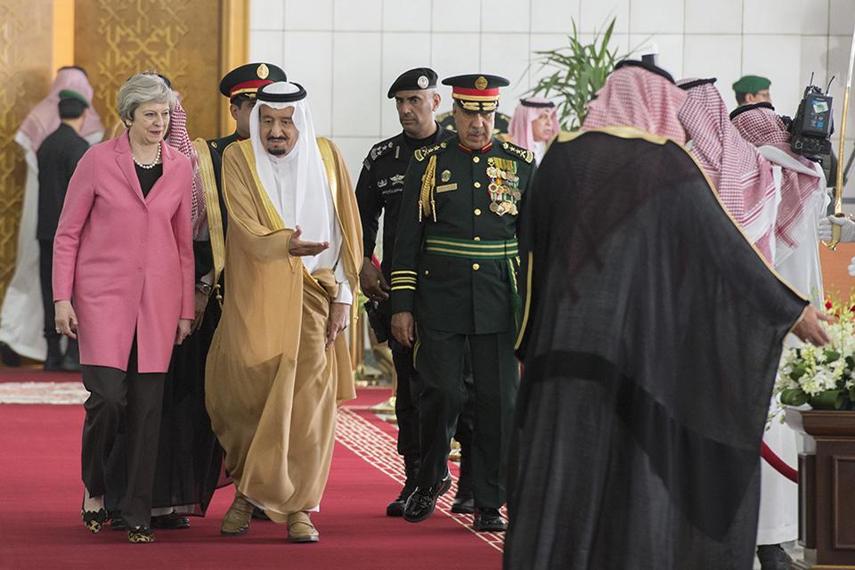 PM meeting with King Salman of Saudi Arabia: 5 April 2017 ...