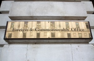 Foreign & Commonwealth Office © Crown Copyright