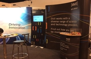 Dstl and Accelerator stand at DPRTE