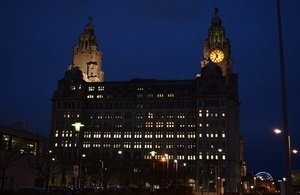 The event was held at Liverpool's Royal Liver Building