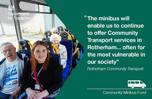 Rotherham Community minibus fund.