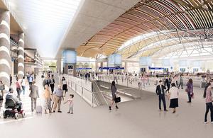 Euston Station visual