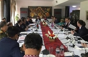 First Bangladesh-UK Strategic Dialogue in Dhaka. Photo @SMcDonaldFCO