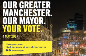 An image of Manchester from the campaign