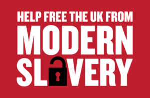 Help free the UK from modern slavery
