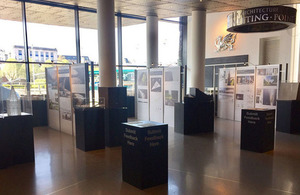 National Holocaust Memorial exhibition at the Wales Millennium Centre