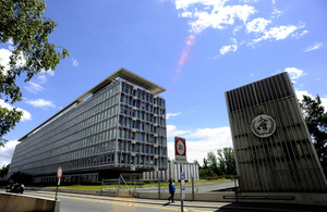 The World Health Organization is headquartered in Geneva