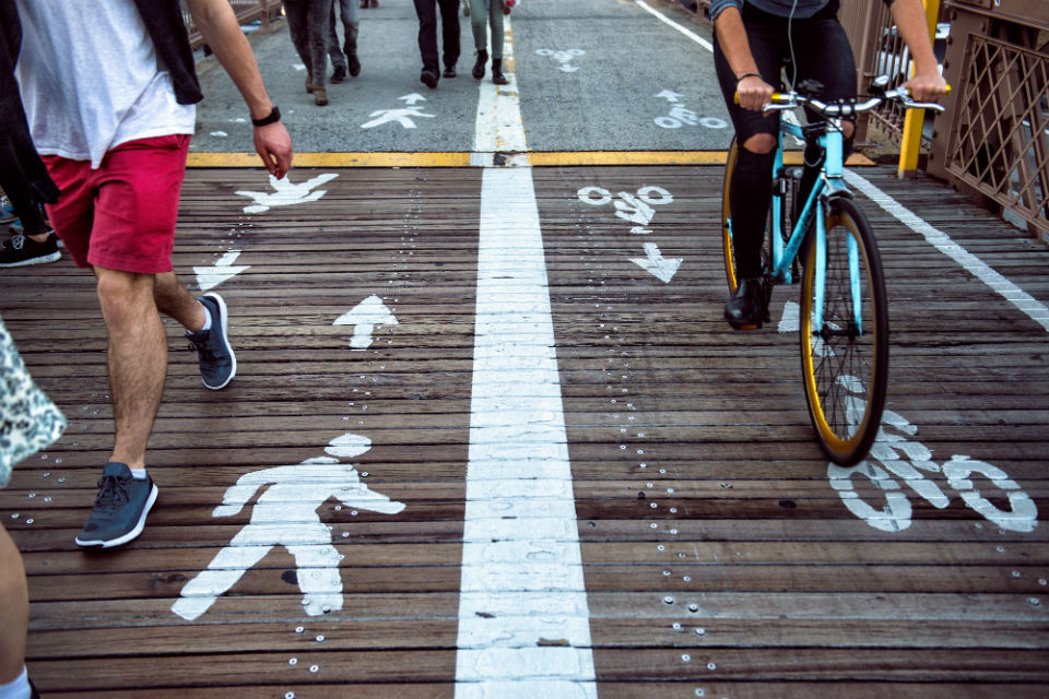 Encouraging cycling and walking: apply for business funding - GOV.UK