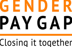 Gender pay gap logo
