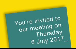 Invitation to an IIAC meeting on 6 July 2017