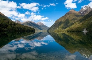 Lake Gunn - New Zealand