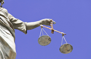 Scales of justice MMO fisheries prosecution case