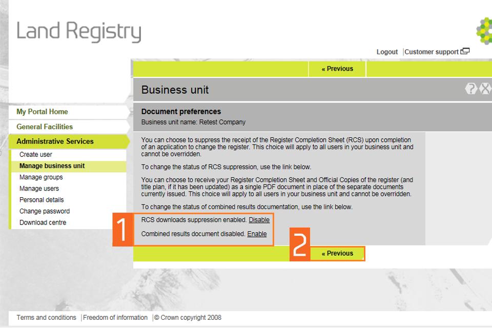 document preferences 2