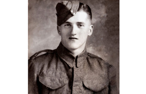 Private Lewis Curtis, 5th Battalion The Wiltshire Regiment [Picture: via MOD]