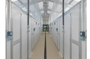 The completed kennels at RAF Northolt [Picture: Crown Copyright/MOD 2012]