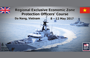 Ministry of Defence delivers Exclusive Economic Zone Protection training in Vietnam
