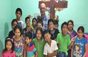 Bishop Lord Hill in Guatemala