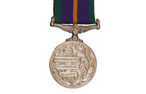 Accumulated Campaign Service Medal (stock image) [Picture: Crown Copyright/MOD]