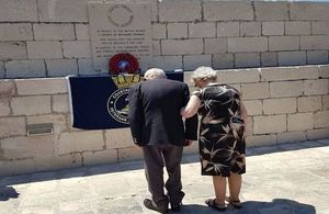British WW2 veterans at the Croatian island of Vis