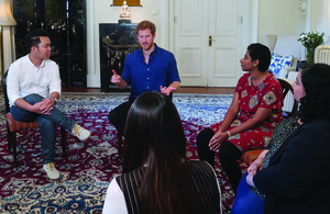 Prince Harry And Young Singaporeans Talk About The Importance Of Mental Health