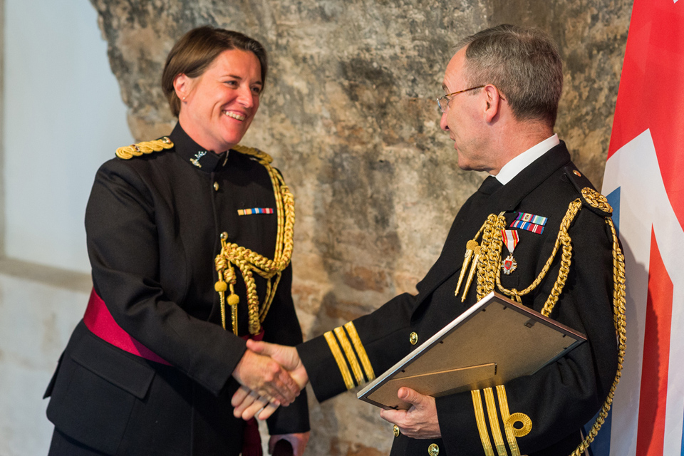 Maj Jane Witt - a new British Defence Attaché to Lithuania