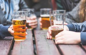 Pub outdoor drinks